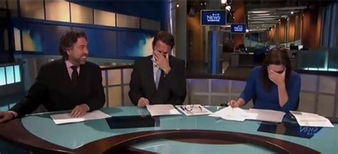 funny news reader cannot stop laughing at model falling newscasters laughing pictures to pin on pinterest pinsdaddy