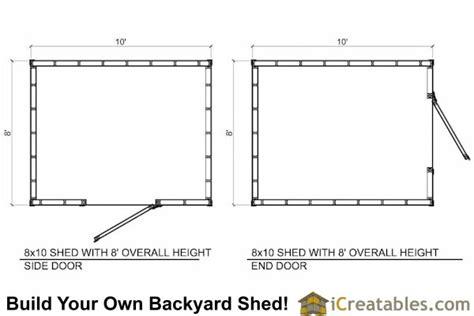 short shed plans icreatablescom