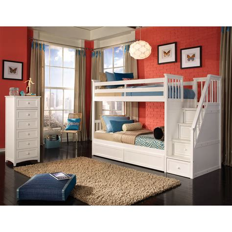 bunk bed with stairs loft bed with stairs for furniture ideas
