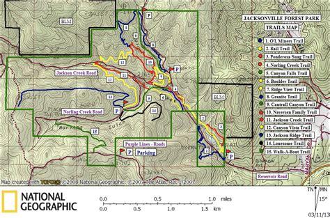 map of jacksonville oregon southern oregon trail destination jacksonville forest park