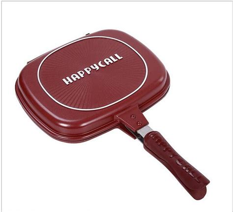 Sale Happy Call Jumbo 32cm sale wholesale happycall happy call 32cm fry pan non stick fryer pan side grill fry