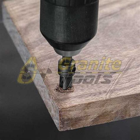 drill bit for granite sink makita 6 countersink with 9 64 quot drill bit a 99677 usa