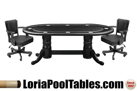 poker table and chairs gaming chair adjustable loria awards