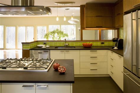 mid century modern kitchen countertops mid century re modern