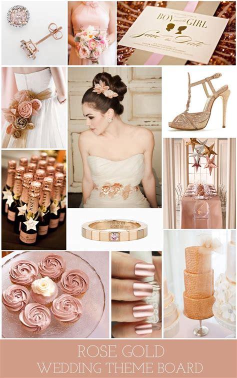 rose themes in rose gold wedding theme endorajewellery custom