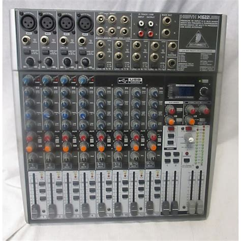 Mixer Xenyx X1622usb used behringer xenyx x1622usb unpowered mixer guitar center