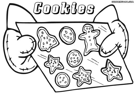 cookie coloring page cookies coloring pages coloring pages to and print