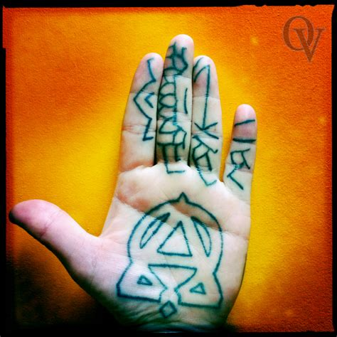 healing time for tattoo palm occult vibrations