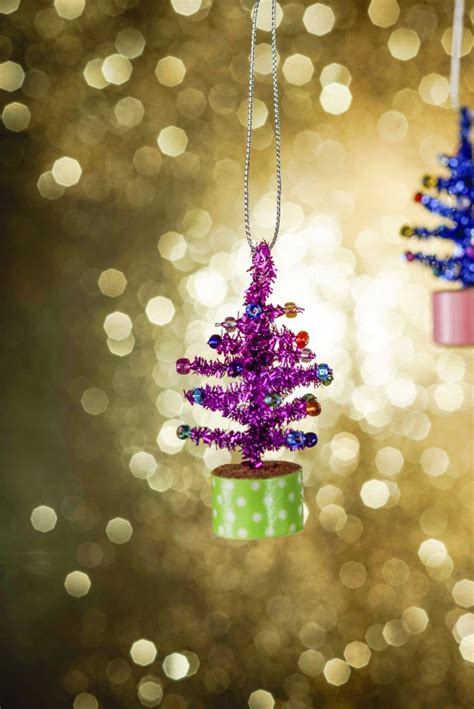 tiny tree ornaments diy ornament craft ideas for from family