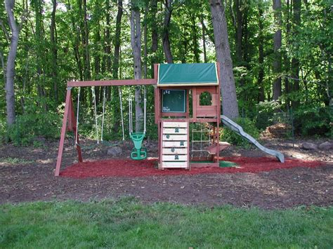 Backyard Swing Set Ideas Swingset Designs Big Backyard Pine Ridge Iii Swing Set Swing Set Ideas Pinterest Swings