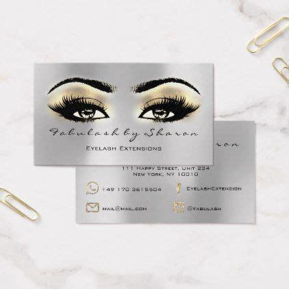 Lash Artist Business Cards