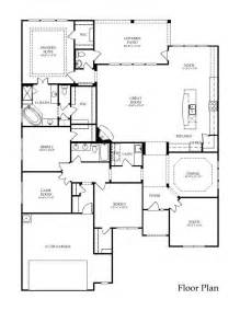 single story log home floor plans