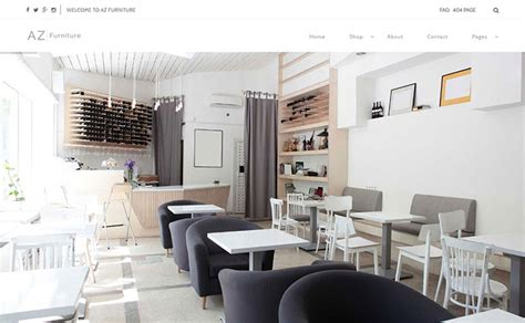 house interior themes 25 best furniture interior ecommerce wordpress themes
