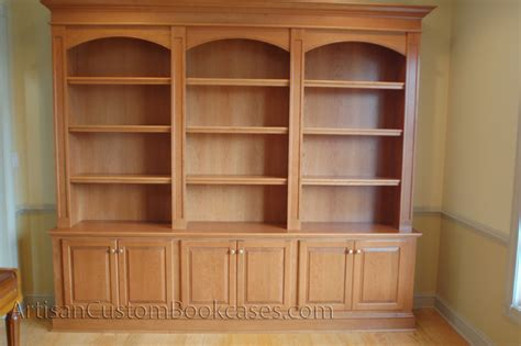 Craftsman Style Built In Bookcases Custom Built Bookcase Plans Duck Flat Wooden Boats How