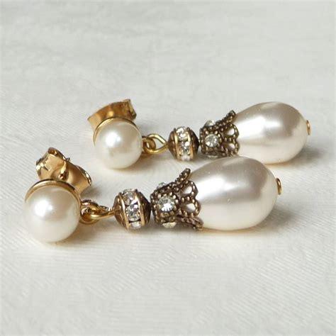 Rhinestone Pearl Earring rhinestone pearl earrings 2017 fashion pearl