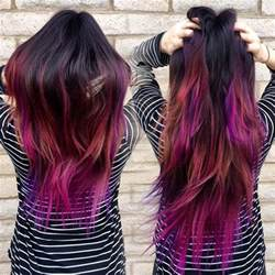 pretty colors to dye your hair how to dip dye your hair at home with three different