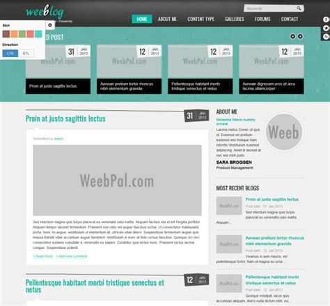 blog themes in drupal 7 drupal 7 personal blog theme guide for developers weebpal