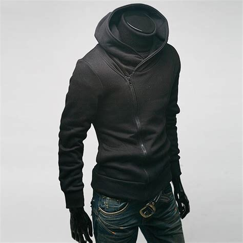 Jaket Sweater Hoodie Jumper Fitnes hooded hoodie sleeve zip sweater warm sweatshirt coat casual jacket ebay