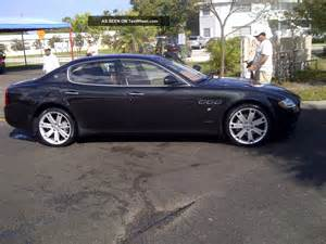 Maserati Four Door Sedan 2009 Maserati Quattroporte Base Sedan 4 Door 4 2l
