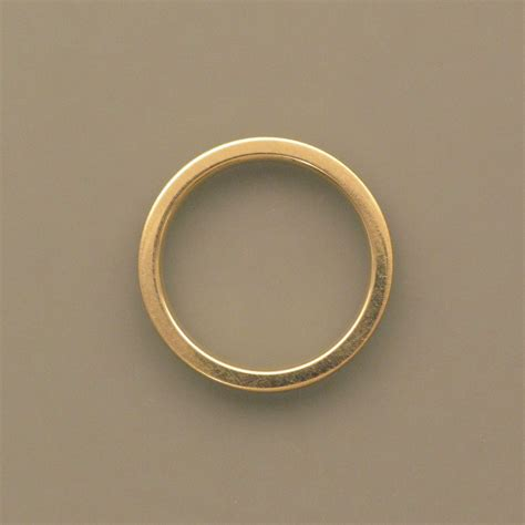 gold ring discreet gold ring 0 16 inch 4 mm schmuckwerk shop de