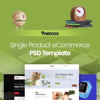 Cosmetics Store Templates Templatemonster Single Product Ecommerce Website Template