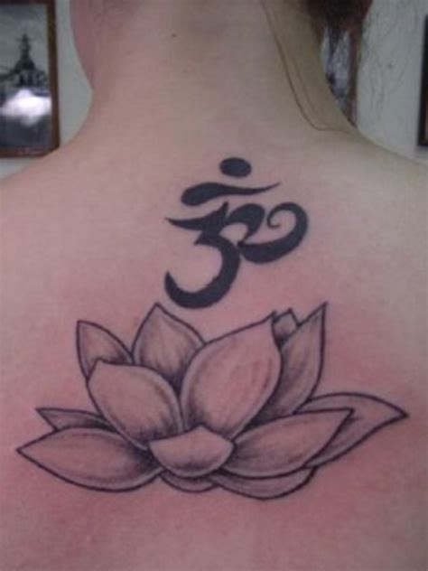 tattoo lotus ohm lotus and ohm tattoo picture at checkoutmyink com