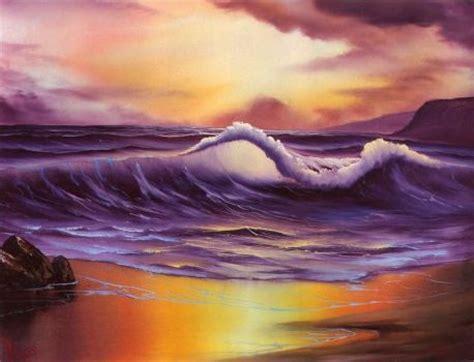 bob ross painting seascape bob ross seascape 252 pieces jigsaw puzzle