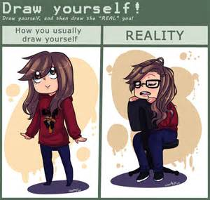 Draw Yourself Meme Draw Yourself By Mayitow On Deviantart