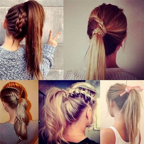 Easy Hair Styles For College by 59 Easy Ponytail Hairstyles For School Ideas Hairstyle