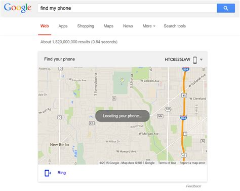 locate android phone tip you can now type quot find my phone quot into to locate it