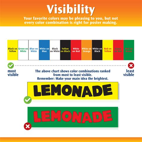 best board colors the color wheel and 5 easy tips for using color on your poster