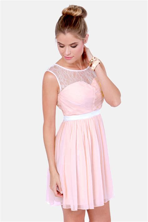 8 Pretty Blush Coloured Clothes by Lovely Blush Pink Dress Lace Dress 79 00