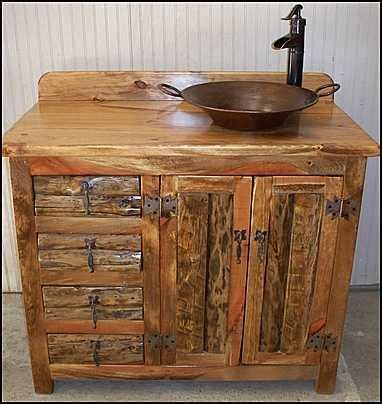 rustic bathroom sink cabinets best 25 rustic bathroom vanities ideas on pinterest