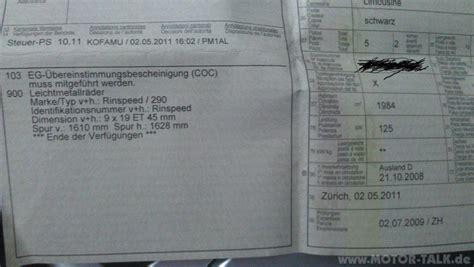 Motorrad Tuning Eintragen by Imag0216 Typenschein X Was N 246 Tig F 252 R Eintragung Von