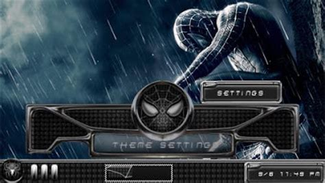 psp themes with sound spiderman 3 psp theme ctf free psp themes downloads