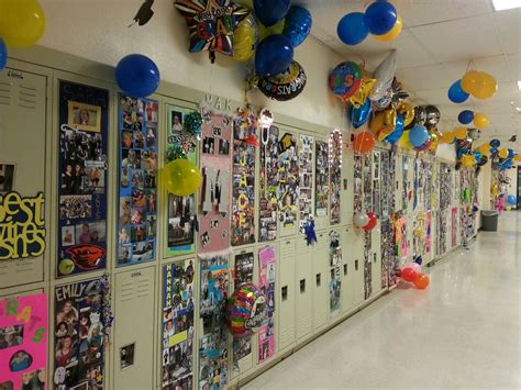Locker Decorations by Locker Decorations Canby Gap