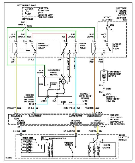 1999 ford explorer wiper wiring diagram 1999 ford explorer