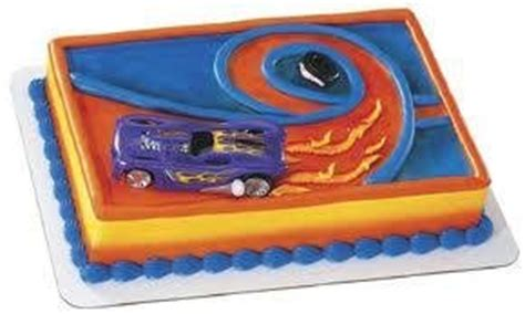 Cars Cake Decorating Kit by Wheels Cake Topper Supplies