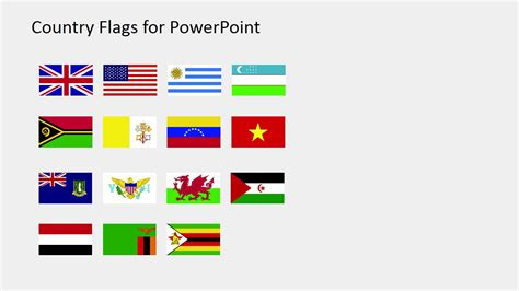 flags of the world for powerpoint country flags clipart for powerpoint s to z slidemodel