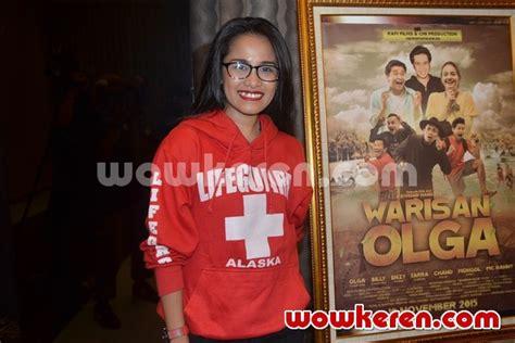 film warisan cinta foto chika waode di perilisan poster dan teaser film