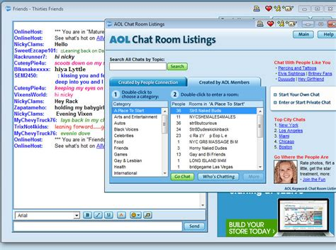 Chat Rooms by 90 S Here Goes Hillary