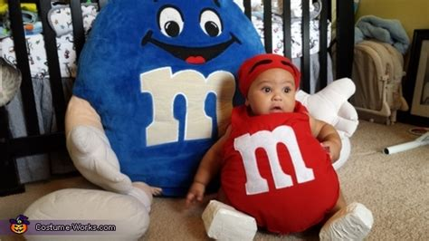 red mm baby costume