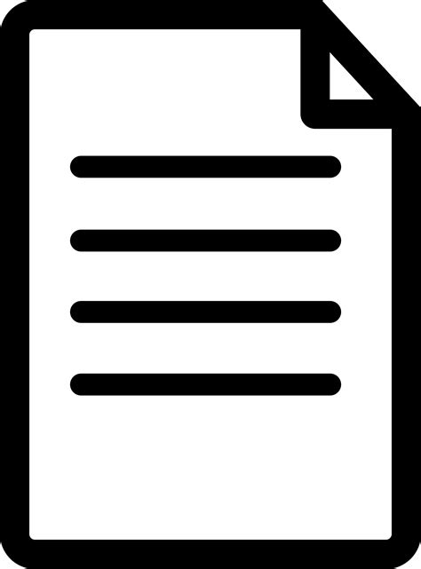 documents clipart clipart file or document icon