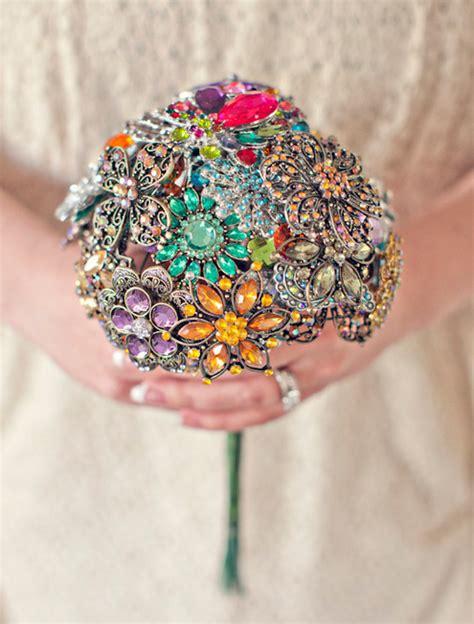Wedding Bouquet Jewelry Stems by Brooch Bouquet By Silver Stems Weddingbee Photo Gallery