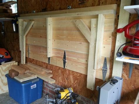 diy fold garage workbench 122 best images about garage workshop on