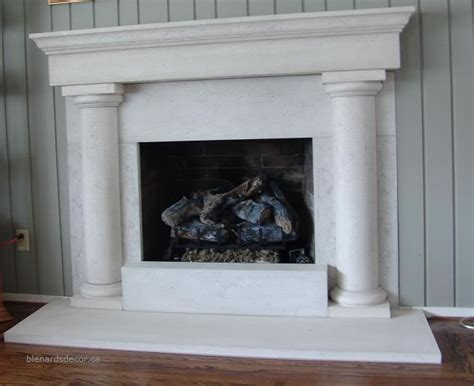 fireplace mantel 09 limestone