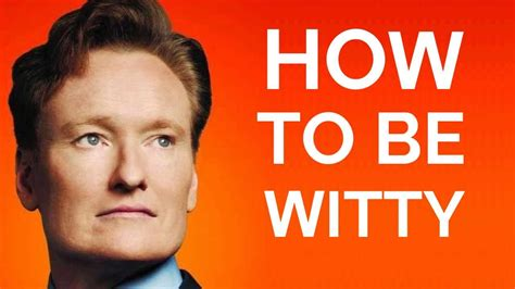Conan Obrien Is Shut Out Of A House Tour by Conan O Brien How To Be Witty