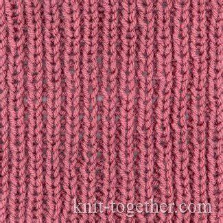 knitting 1x1 rib knit together simple easy rib 1x1 knitting pattern