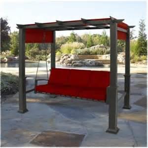 target patio swing pergola patio swing from target patio garden ideas