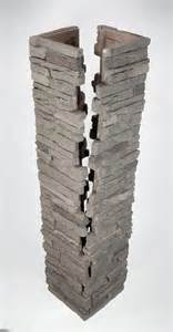 Faux Stone Column Wraps » Home Design 2017